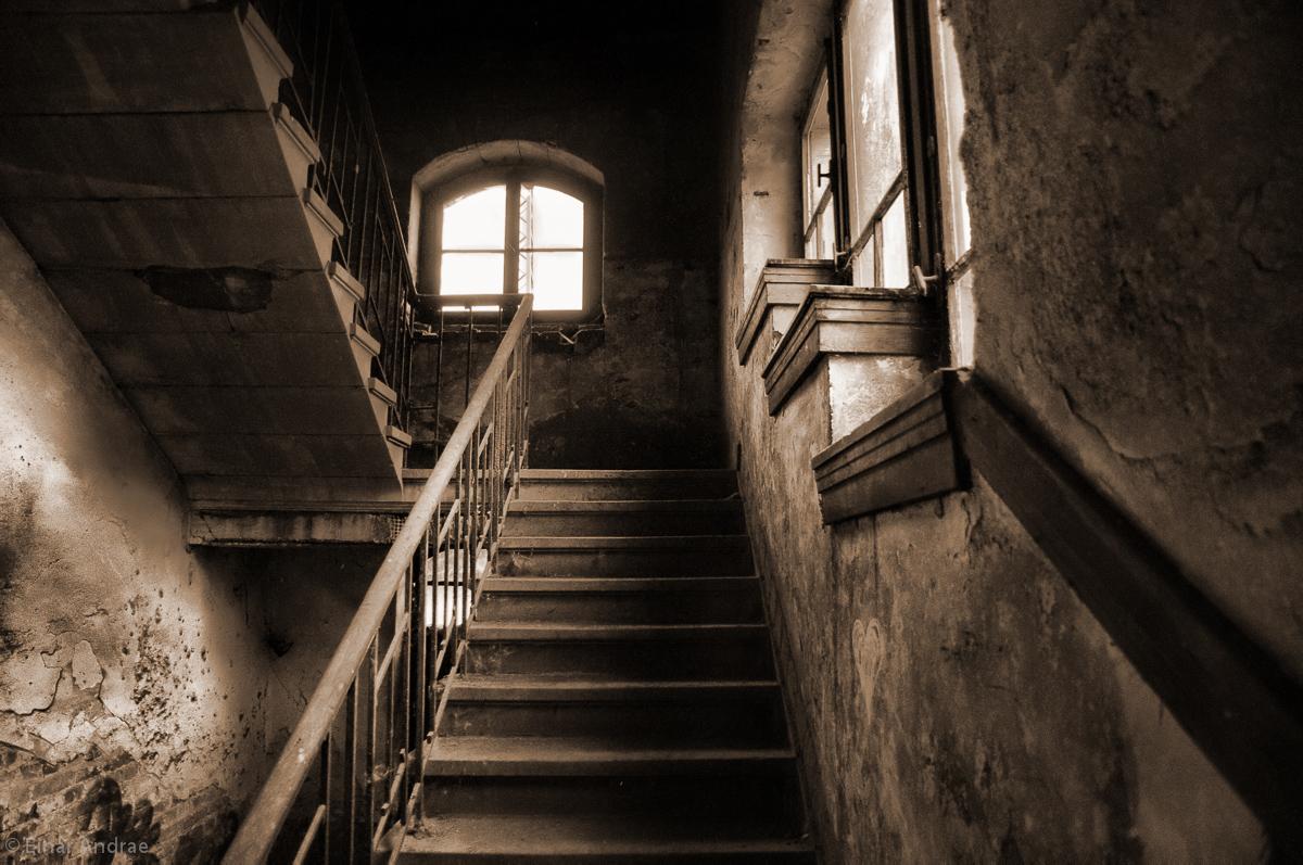 Alte  Halle Treppe
