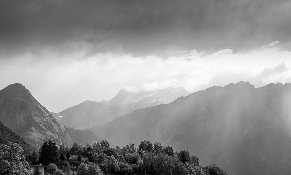 Lichtstimmung im Val di Blenio