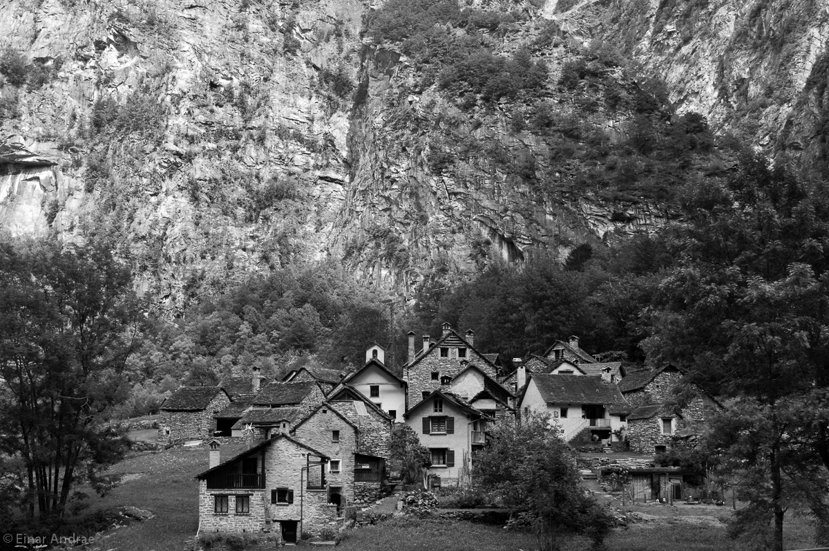 Das Dorf Roseto im Val Bavona